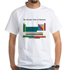 Color Enhanced Periodic Table Shirt