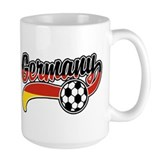 Germany Soccer Coffee Mug