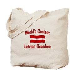 Coolest Latvian Grandma Tote Bag