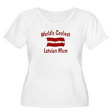 Coolest Latvian Mom T-Shirt