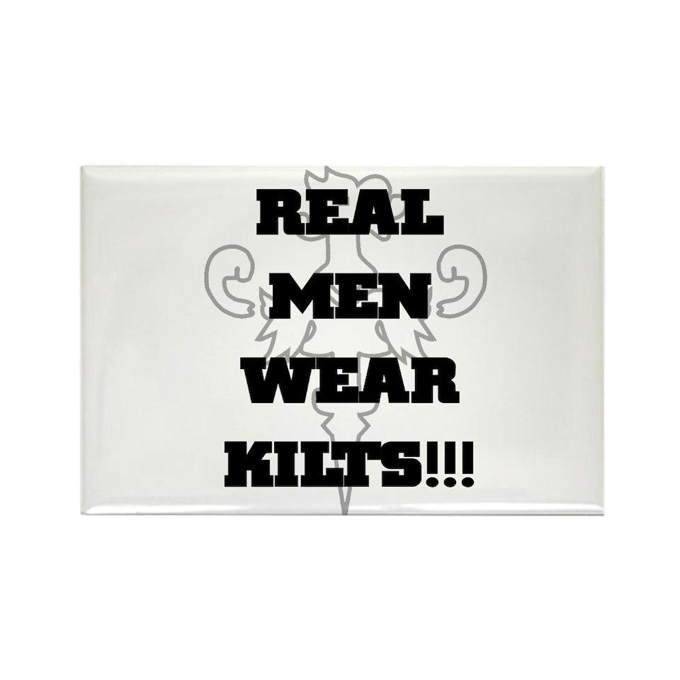 Real Men Wear Kilts  Tartan Terrors Merchandise