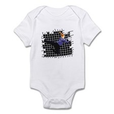 Soccer Girl Goalie Infant Bodysuit