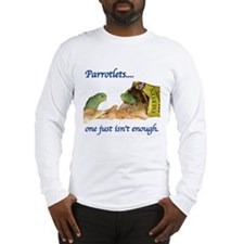Parrotlets...one isn't..Male  Long Sleeve T-Shirt