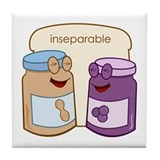 &amp;quot;Inseparable&amp;quot; Tile Coaster