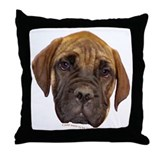 Bullmastiff Puppy Throw Pillow