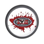 Team Pain Blood Red Wall Clock