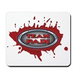 Team Pain Blood Red Mousepad