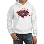 Team Pain blood / red logo Hooded Sweatshirt