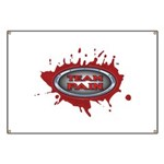 Team Pain blood / red logo Banner