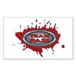 Team Pain blood / red logo Rectangle Sticker
