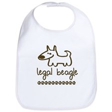 Legal Beagle Bib