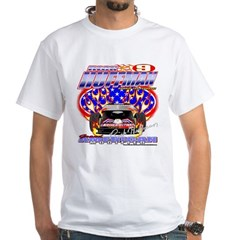 American Infidel Race Car Promo White T-Shirt