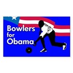 Bowlers for Obama Bumper Sticker