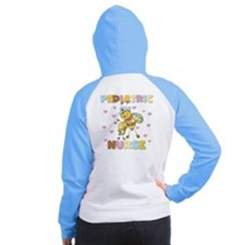 Bee Pediatric Nurse Women's Raglan Hoodie