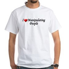 Luv Manipulating T-Shirt (white)
