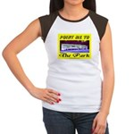 Point Me To The Park Women's Cap Sleeve T-Shirt