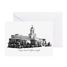 Newport Beach Califo Greeting Cards (Pk of 10)