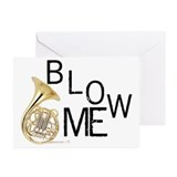 Blow My French Horn! Greeting Cards (Pk of 20)