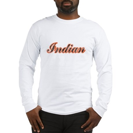 Indian Long Sleeve T-Shirt