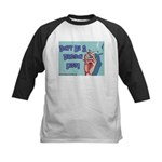 Don't Be A Dragon Lady Kids Baseball Jersey