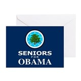 SENIORS FOR OBAMA Greeting Cards (Pk of 20)