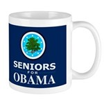 SENIORS FOR OBAMA DARK Mug