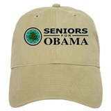 SENIORS FOR OBAMA Baseball Cap