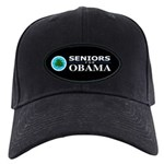SENIORS FOR OBAMA Black Cap