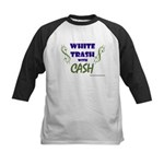 White Trash With Cash Kids Baseball Jersey