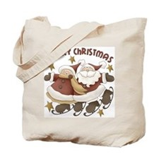 Mr. And Mrs. Santa Claus Tote Bag