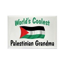 Coolest Palestinian Grandma Rectangle Magnet