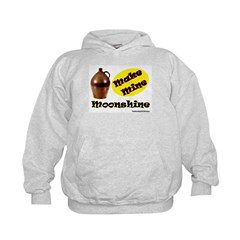 Make Mine Moonshine Kids Hoodie