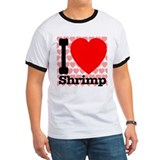I Love Shrimp T