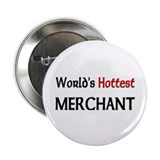"World's Hottest Merchant 2.25"" Button (10 pack)"