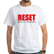 Reset...do it again (white)