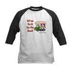 RV'ers Do It On The Road Kids Baseball Jersey