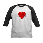 Fussy Couture Kids Baseball Jersey