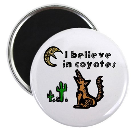 Believe in Coyotes Magnet