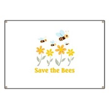 Save the Bees Banner