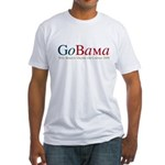 GoBama Go Obama Fitted T-Shirt