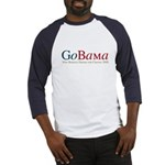GoBama Go Obama Baseball Jersey