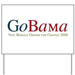 GoBama Go Obama Yard Sign