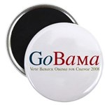 GoBama Go Obama Magnet