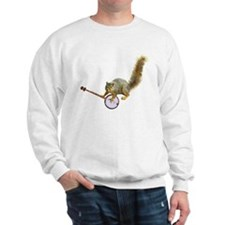 Squirrel with Banjo Sweatshirt