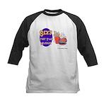 Sexy Fast Food Worker Kids Baseball Jersey