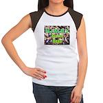 NIMBY Killer Bees Women's Cap Sleeve T-Shirt