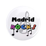 "Madrid Rocks 3.5"" Button"