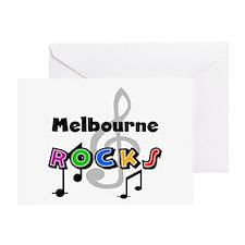 Melbourne Rocks Greeting Card