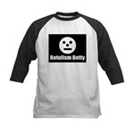 Botulism Betty Kids Baseball Jersey