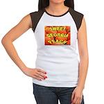 Sweet Georgia Peach Women's Cap Sleeve T-Shirt